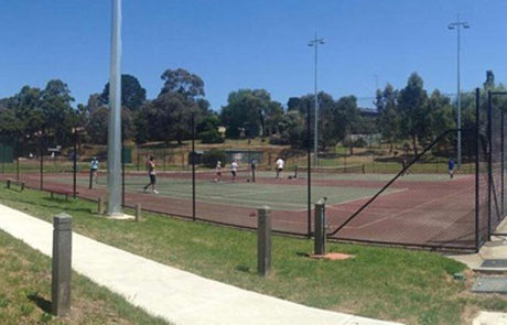 Wandong Stadium and Oval - Wandong Tennis Club