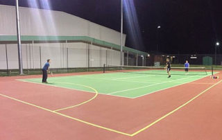 Wandong Stadium and Oval - Wandong Tennis Club