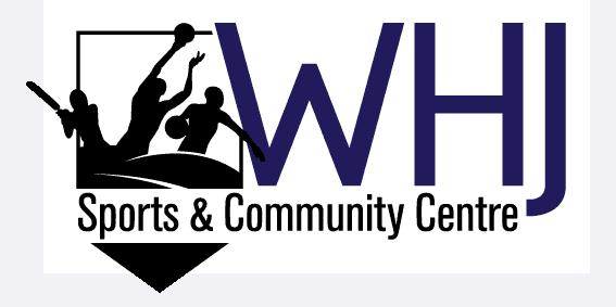 WHJ Sports and Community Centre Logo